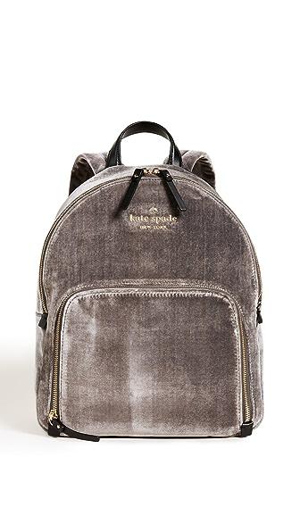 Kate Spade New York Watson Lane Hartley Backpack In Charcoal