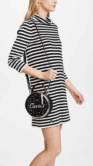 Kate Spade New York Finer Things Caviar Bag