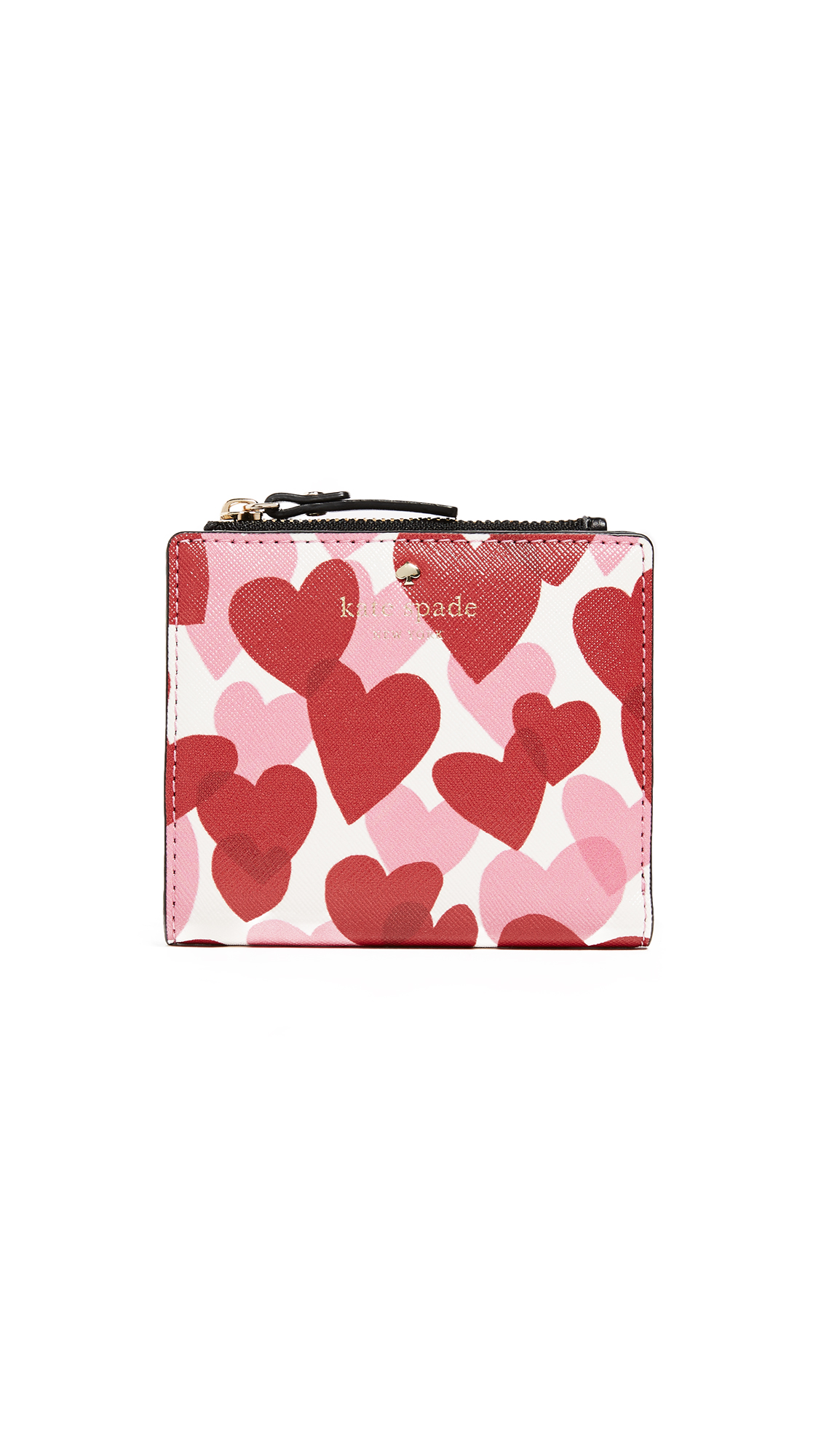 Kate Spade New York Ours Truly Adalyn Mini Wallet - Heart Party