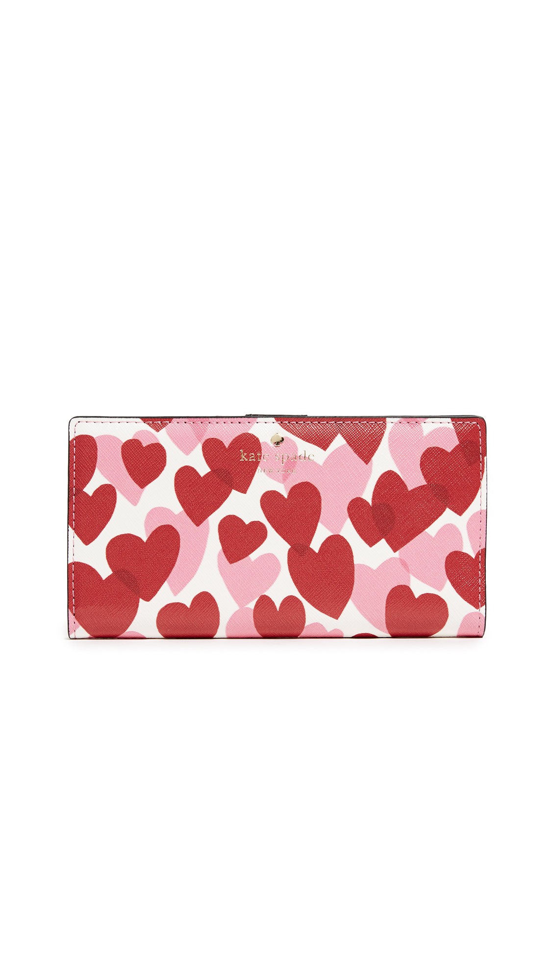 Kate Spade New York Ours Truly Stacy Wallet - Heart Party
