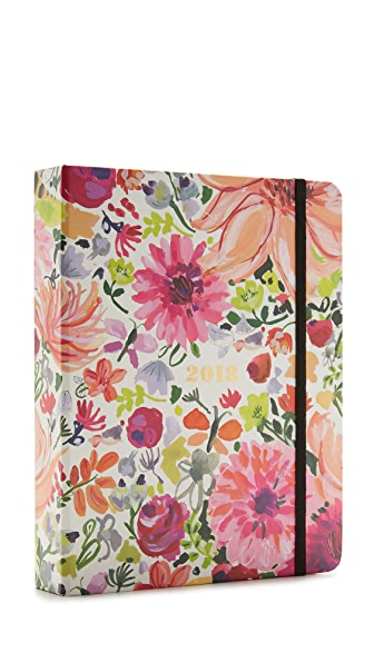 Kate Spade New York Dahlia Large 17 Month 2018 Agenda In Dahlia