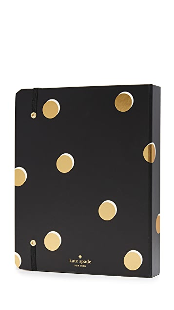 Kate Spade New York Scatter Dot Large 17 Month 2018 Agenda