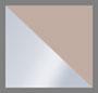 Silver/Nude
