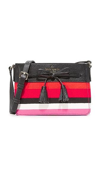 Kate Spade New York Hayes Street Eniko Cross Body Bag - Pink Multi