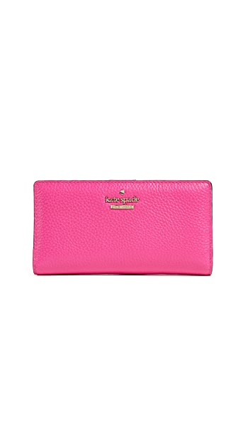 Kate Spade New York Jackson Street Stacy Wallet In Peony Pink