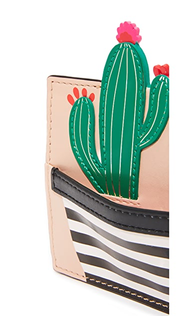 Kate Spade New York Cactus Card Holder