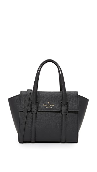 Kate Spade New York Daniels Drive Mini Abigail Bag In Black