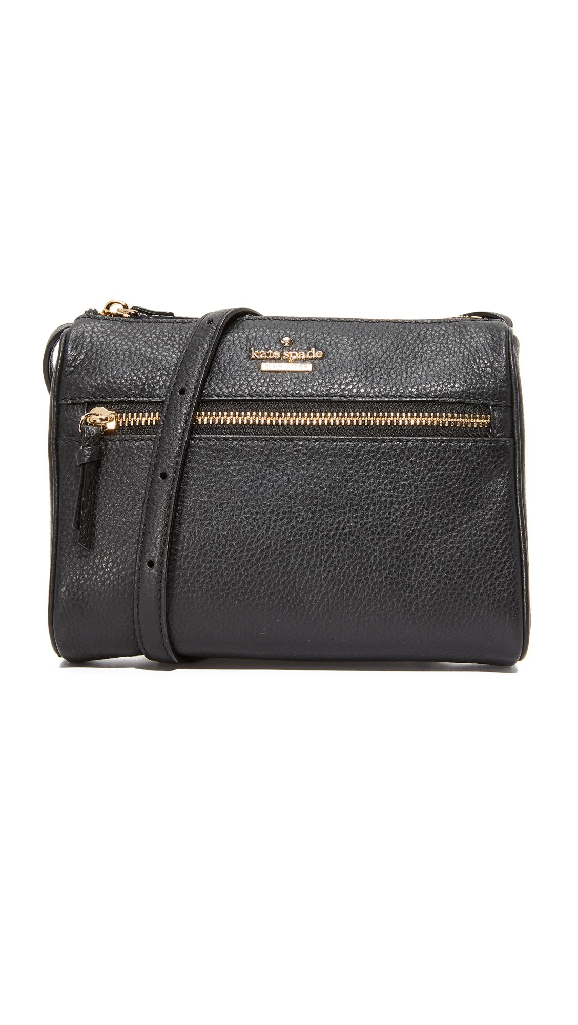 Kate Spade New York Jackson Street Mini Cayli Cross Body Bag - Black