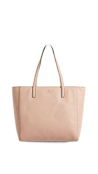 Kate Spade New York Hopkins Street Hallie Tote In Brown Sugar