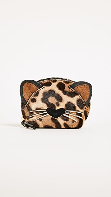 Kate Spade New York Run Wild Leopard Dumpling Coin Purse