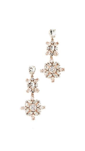 Kate Spade New York Snowy Nights Linear Statement Earrings