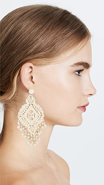 Kate Spade New York Lace Statement Earrings