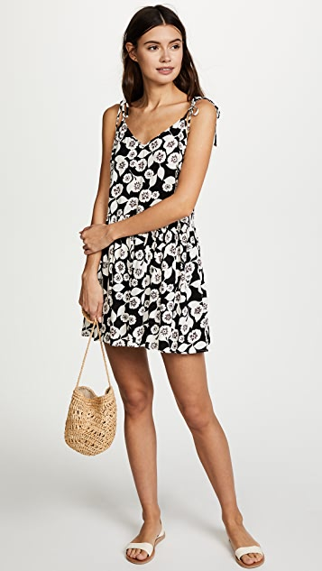 Kate Spade New York Aliso Beach Cover Up Flare Romper