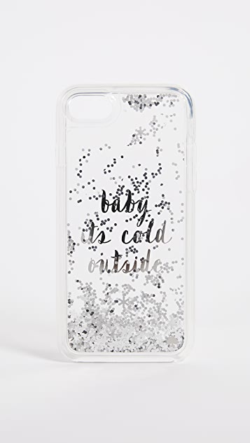 Kate Spade New York Baby It's Cold Outside iPhone 7 / 8 Case