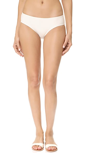 Kate Spade New York Hipster Bikini Bottoms In Cream