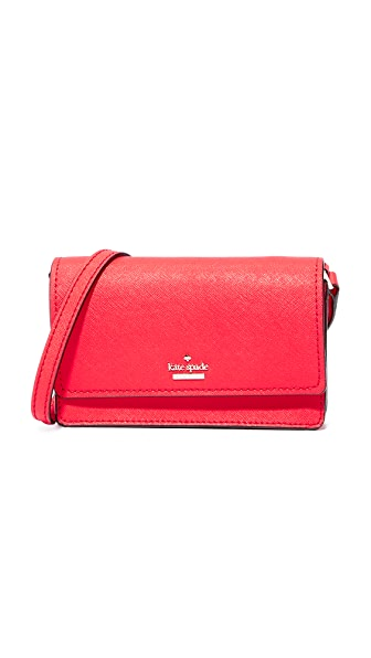 Kate Spade New York Arielle Cross Body Bag - Prickly Pear