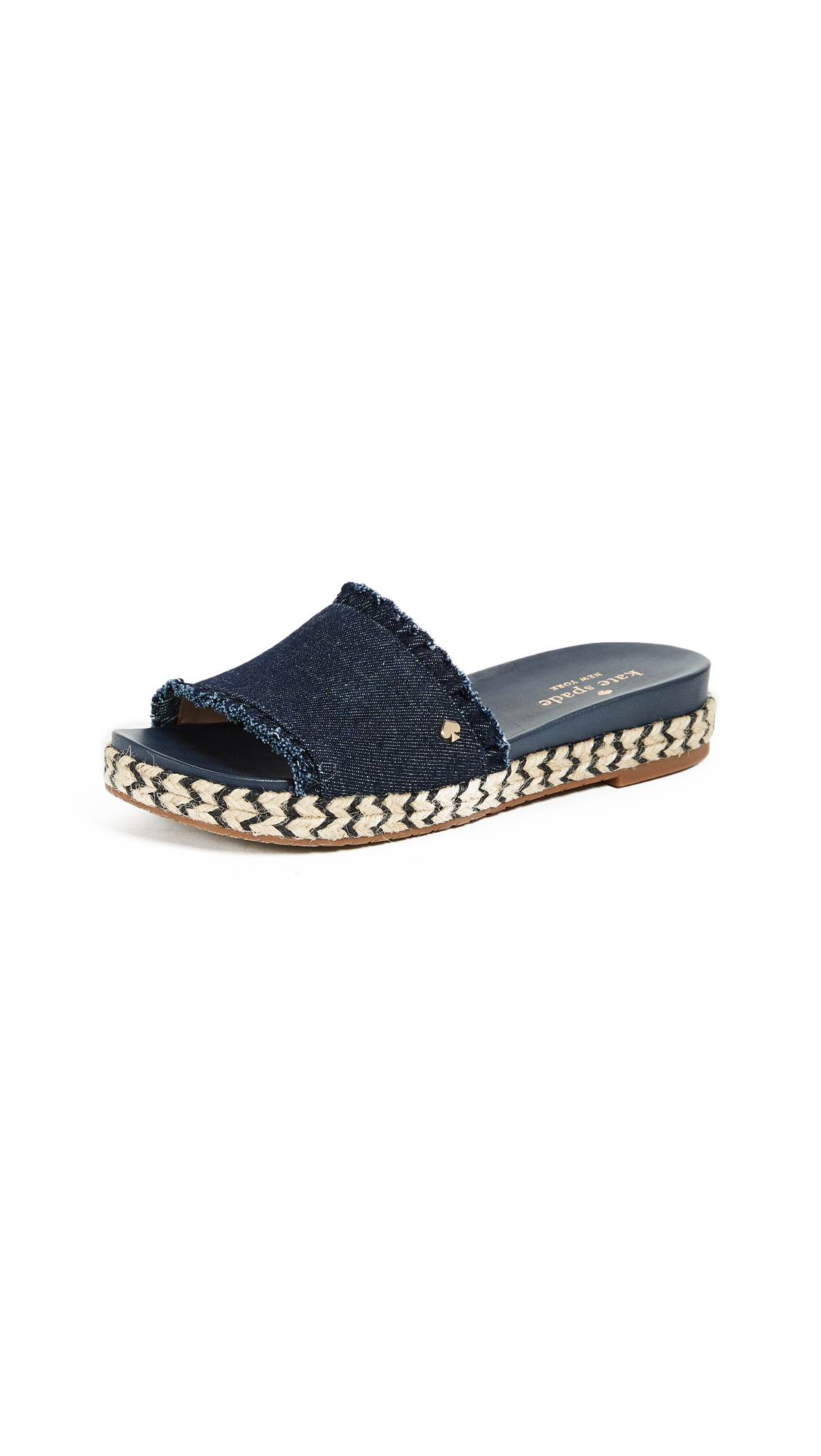 Kate Spade New York Zahara Slides - Indigo
