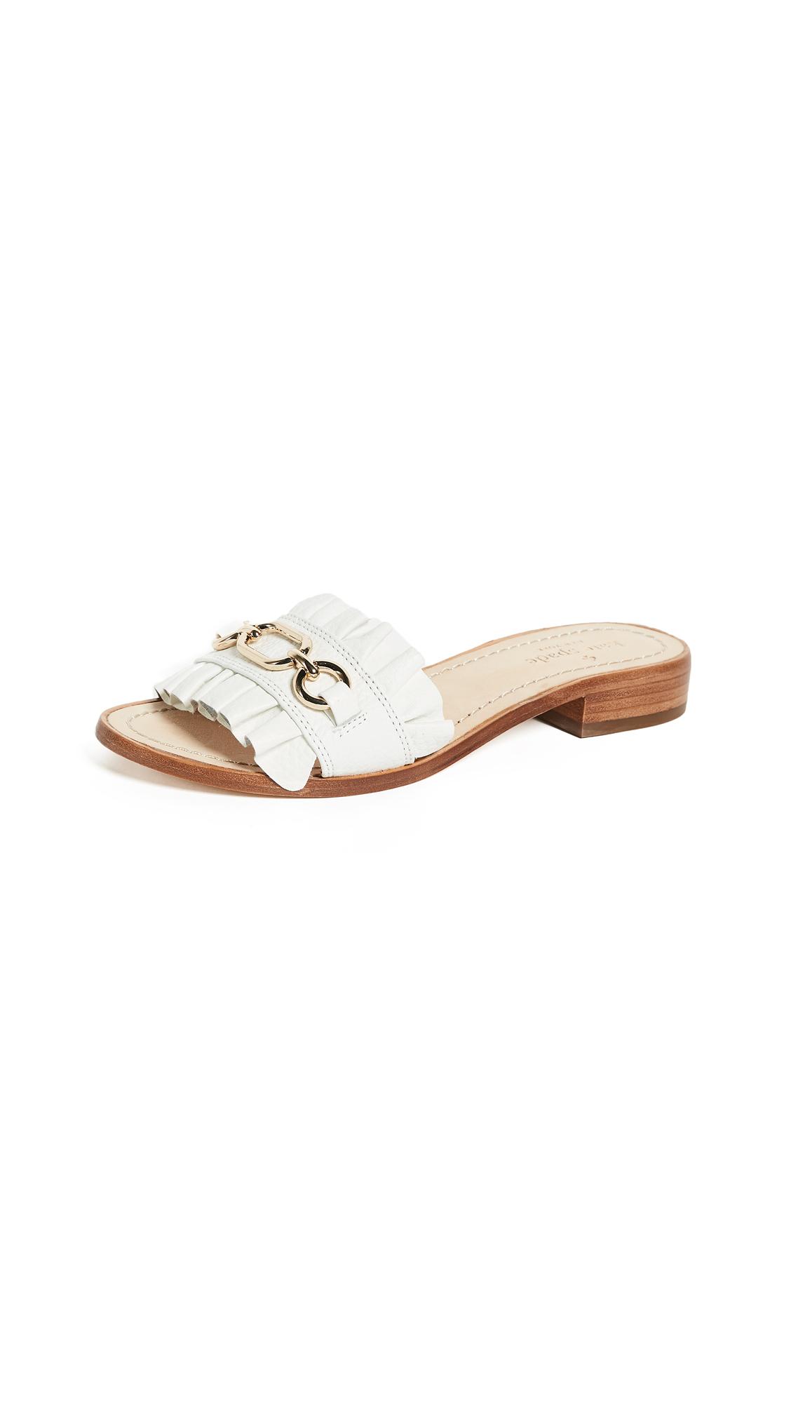 Kate Spade New York Beau Slides - White