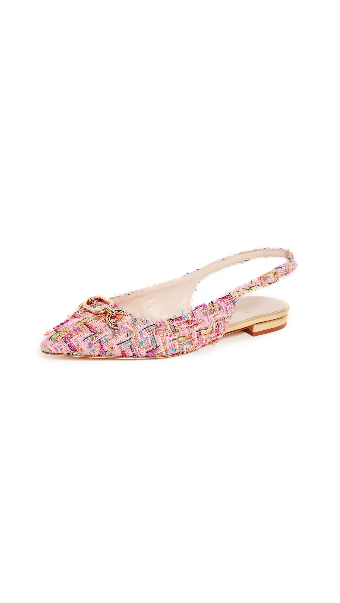 Kate Spade New York Belle Slingback Skimmers - Pink Multi