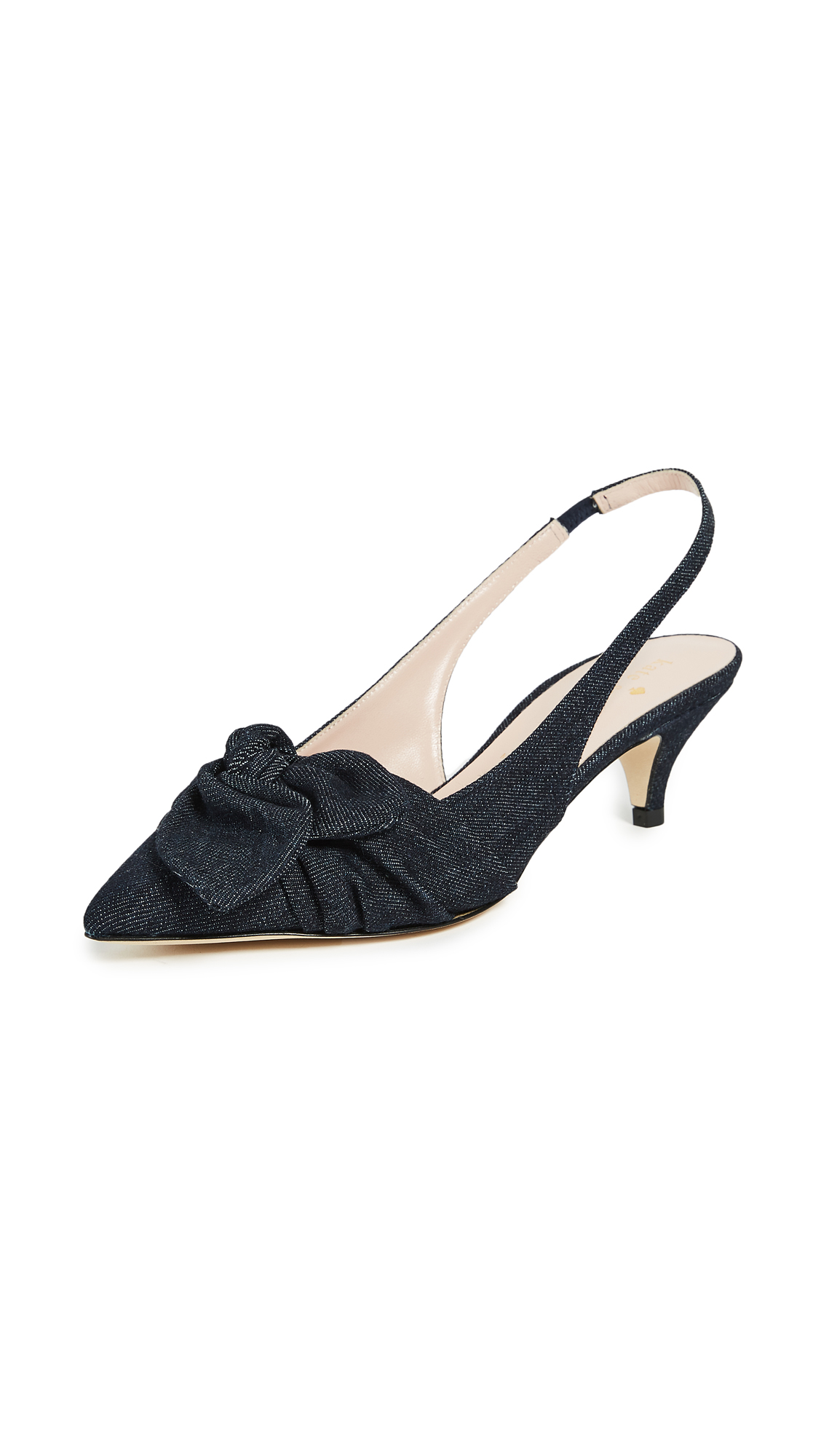 Kate Spade New York Ophelia Slingback Pumps - Denim