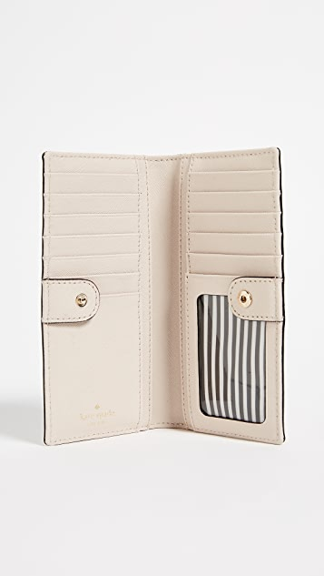 Kate Spade New York Cameron Street Stacy Snap Wallet