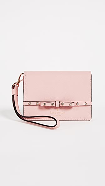 Kate Spade New York Elliot Street Clemy Wallet In Warm Vellum