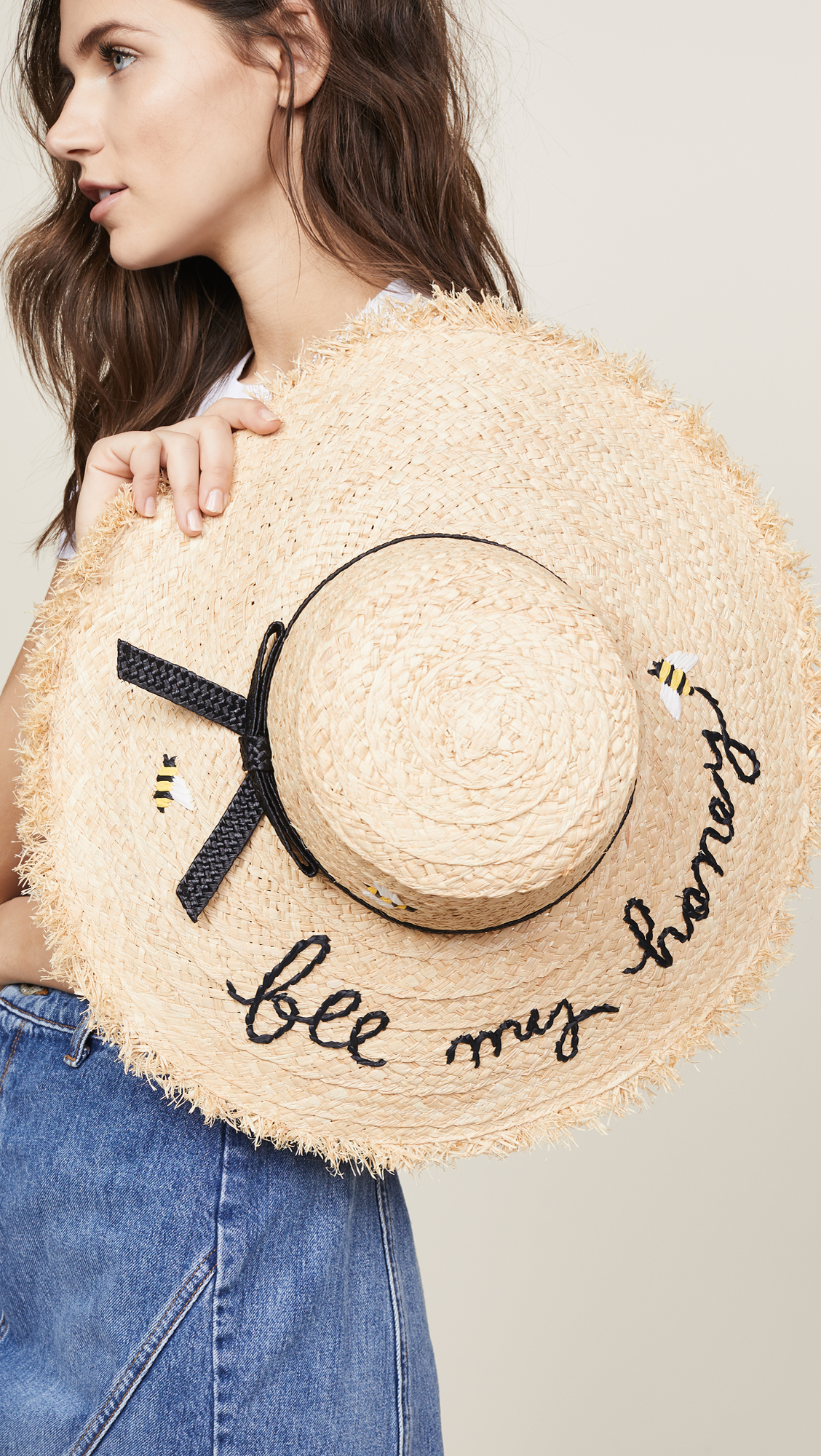Kate Spade New York Bee My Honey Sun Hat  25a5d4a1b2e