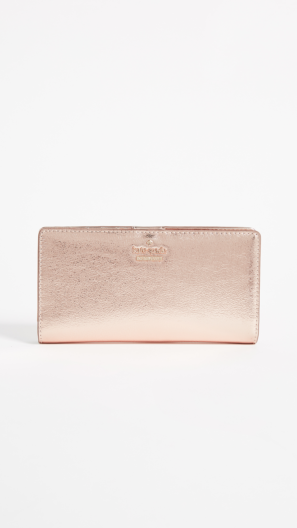 Kate Spade New York Highland Drive Stacy Wallet - Soft Rose Gold