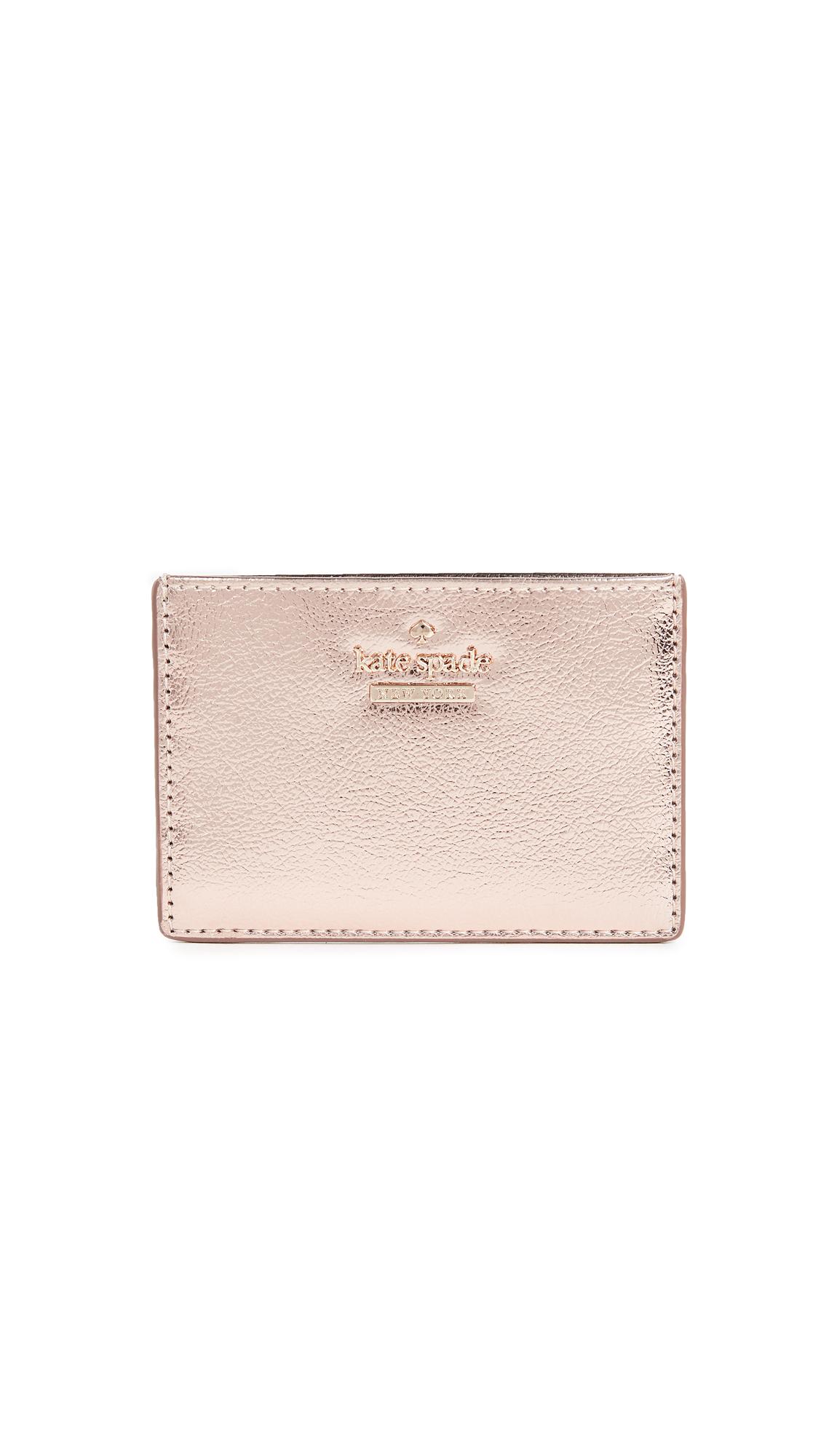 Kate Spade New York Highland Drive Card Holder - Soft Rose Gold