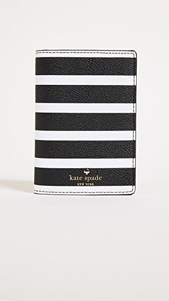 Kate Spade New York Hyde Lane Stripe Passport Holder