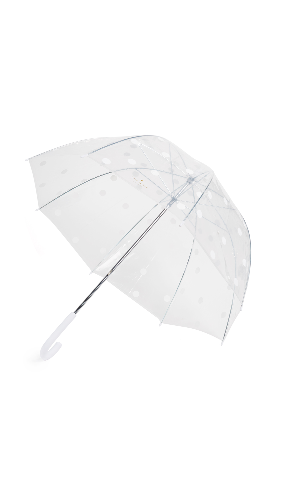 Kate Spade New York Dot Umbrella - White Dot