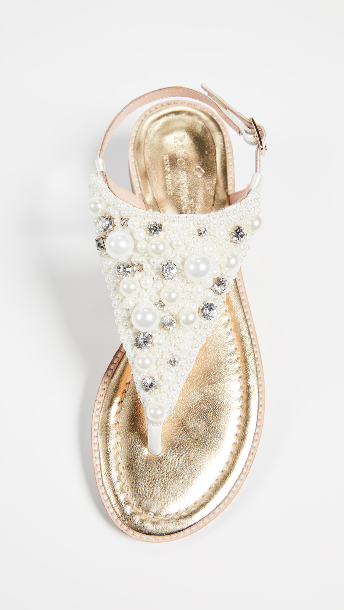 e4bcc467583 Kate Spade New York Sama Imitation Pearl Sandals