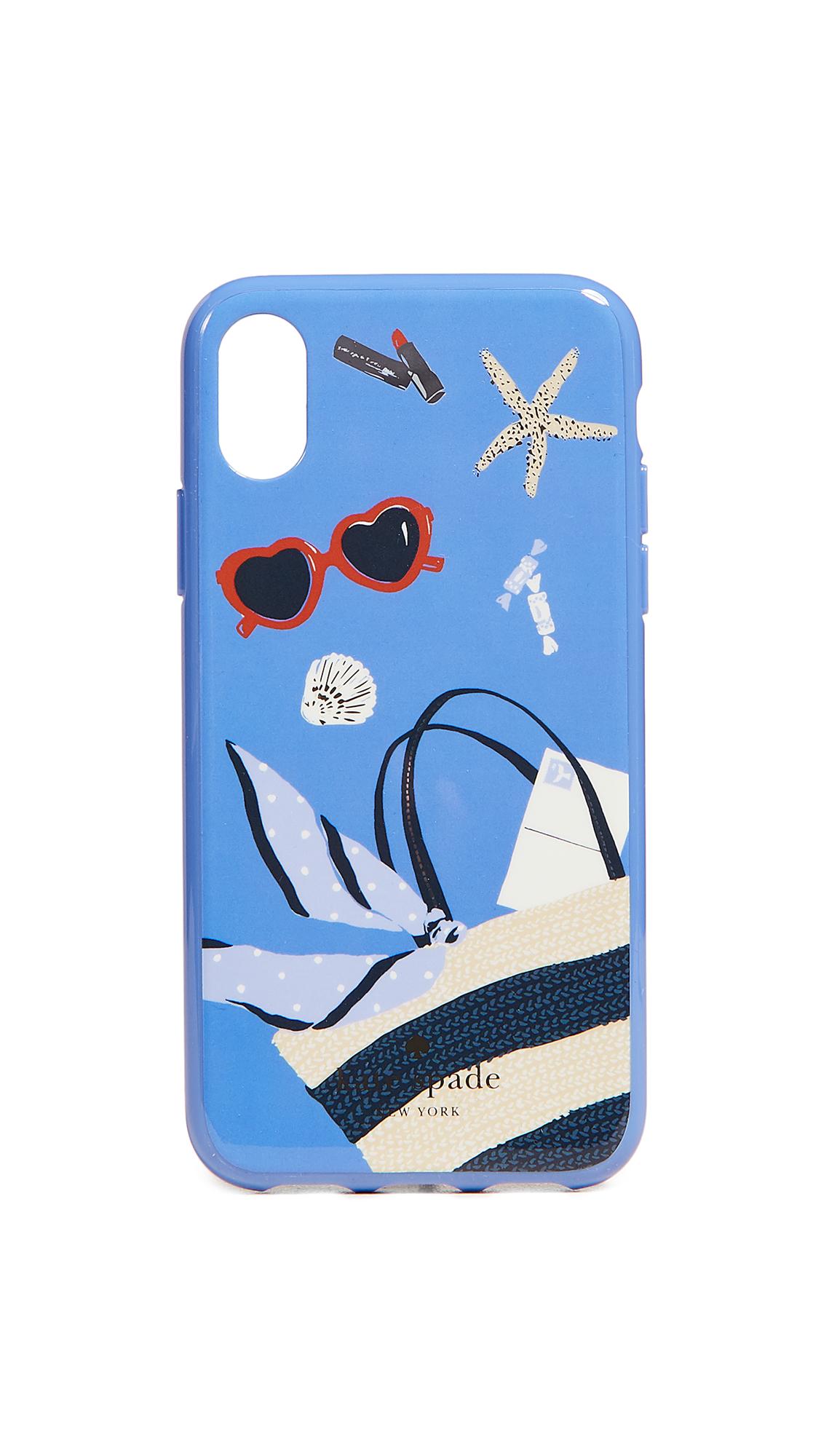 Kate Spade New York Beach Bag iPhone X Case
