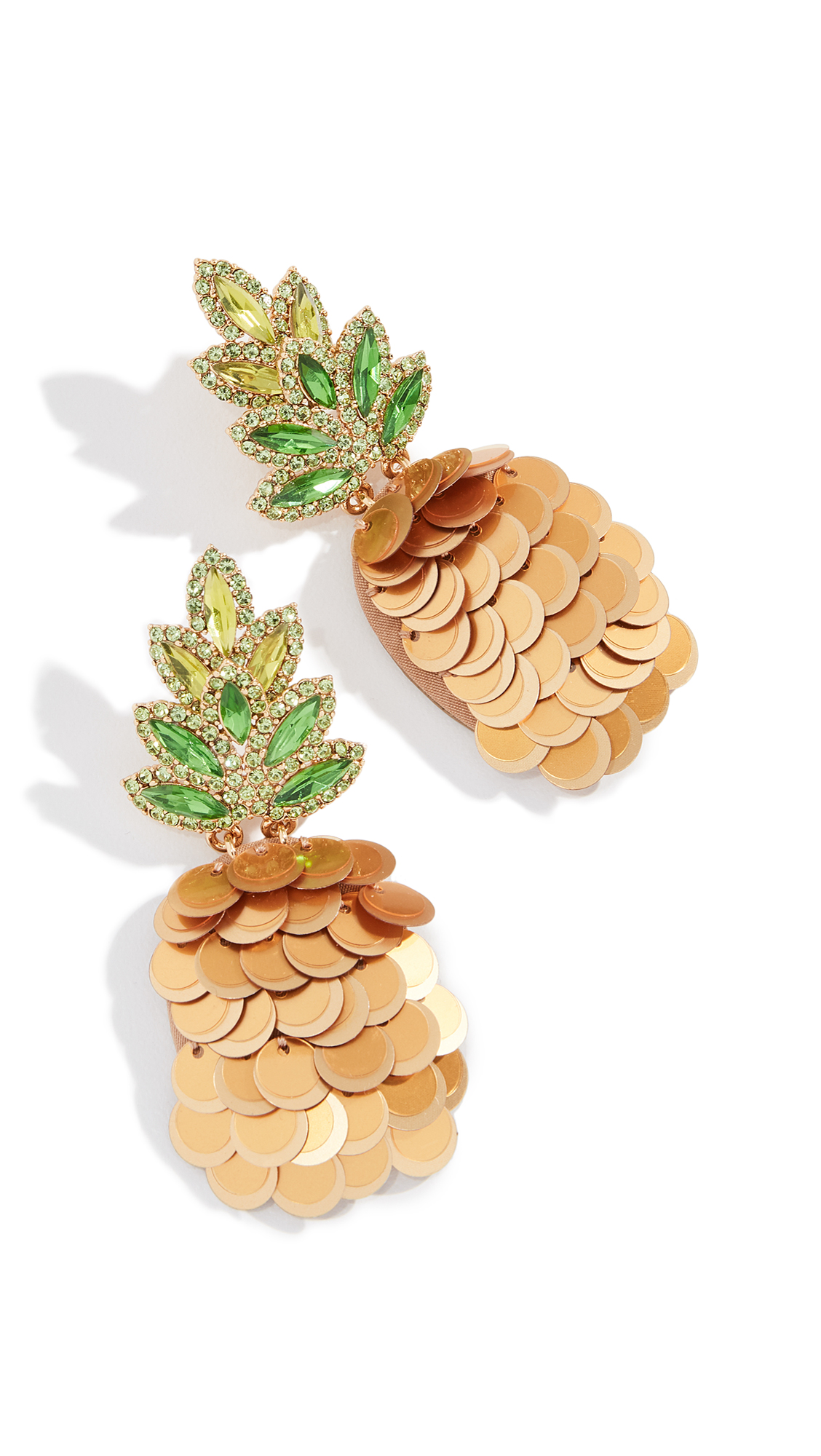 BY THE POOL PINEAPPLE STATEMENT STUDS
