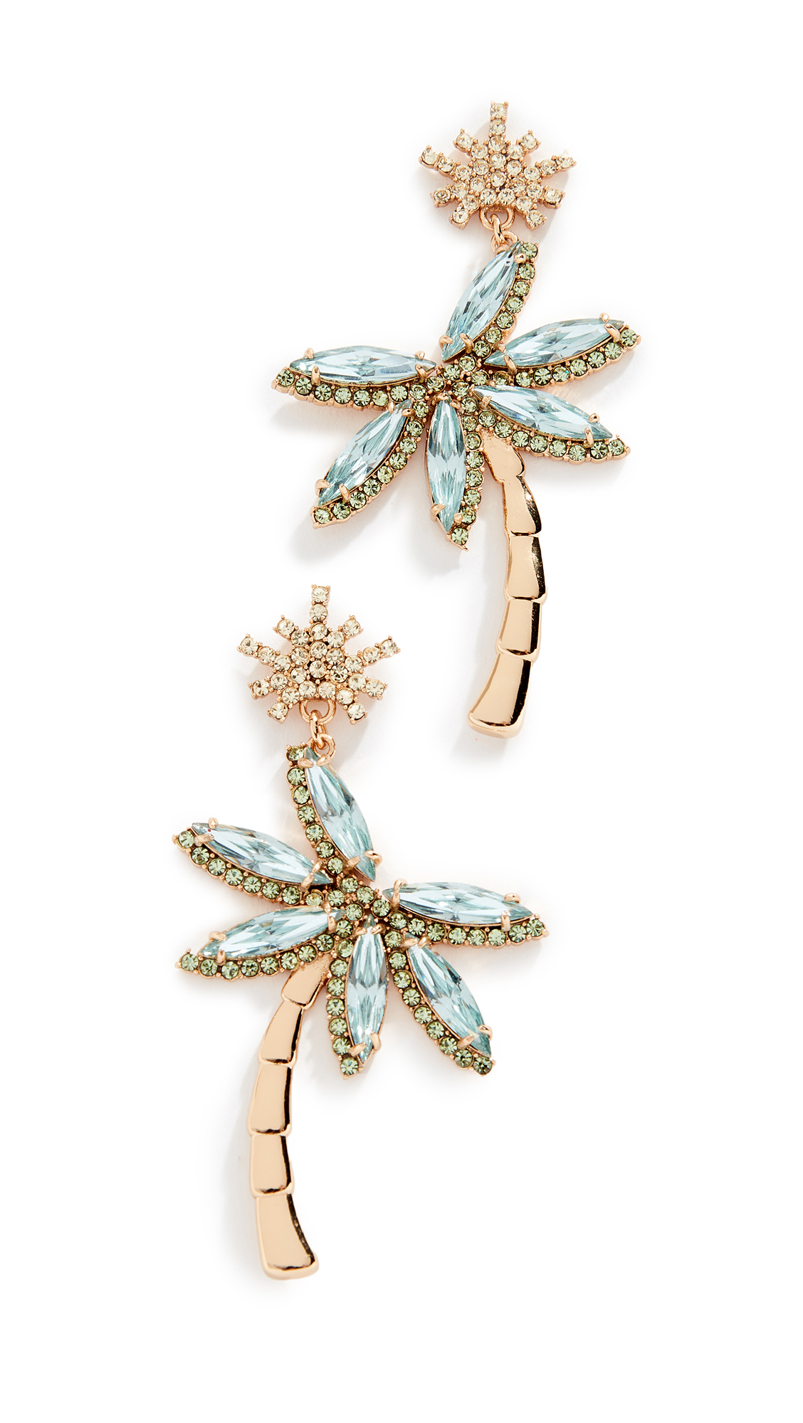 Kate Spade New York California Dreaming Palm Tree Statement Earrings