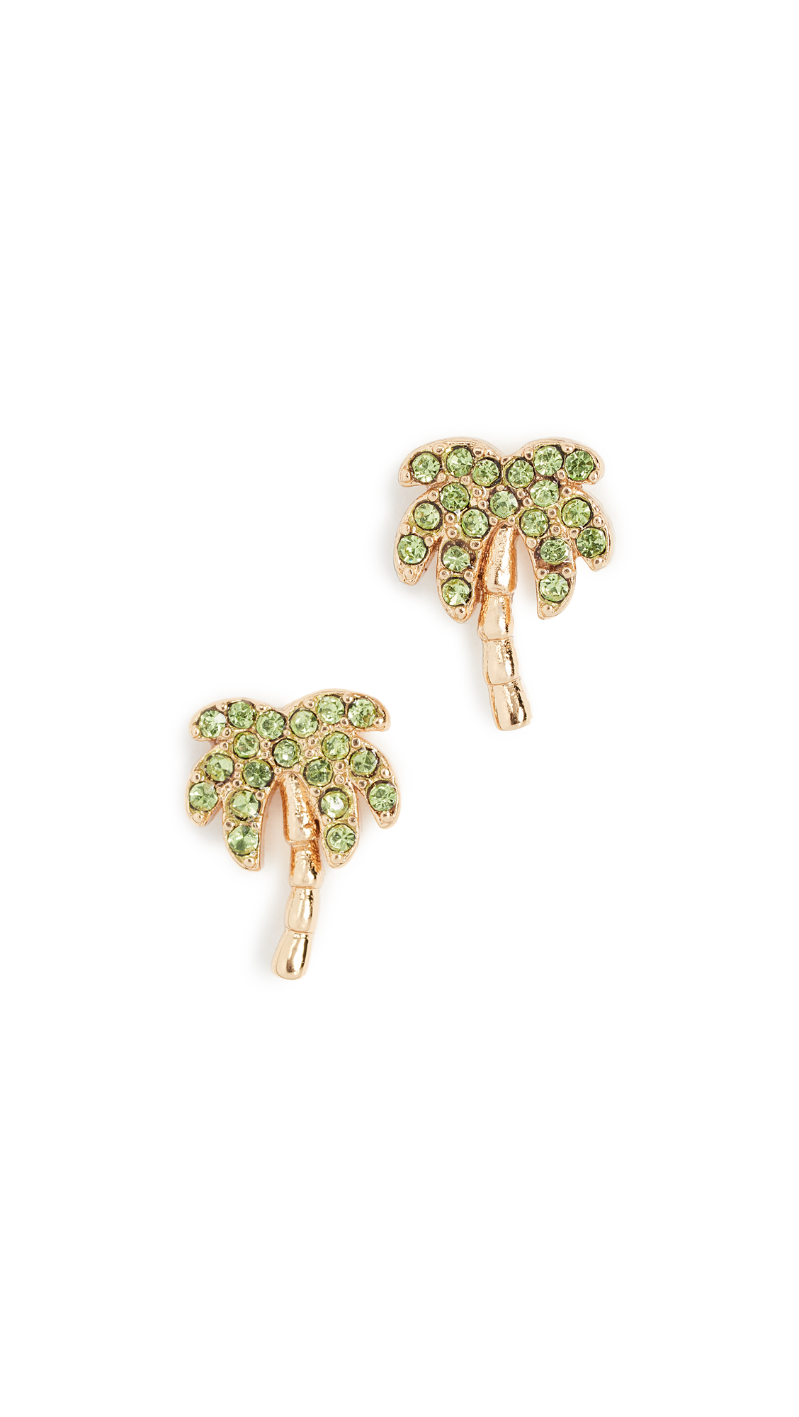 Kate Spade New York California Dreaming Palm Tree Studs