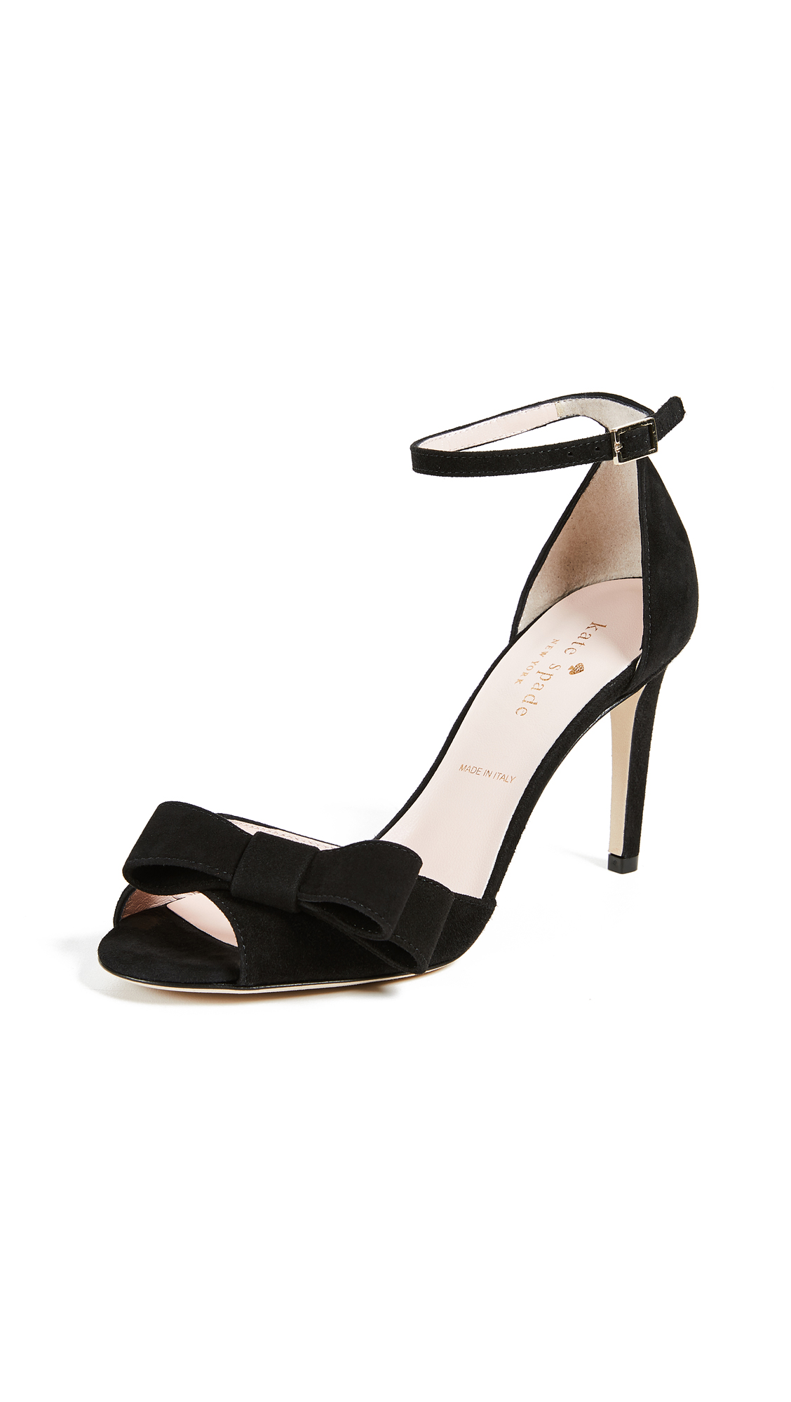 Kate Spade New York Ismay Ankle Strap Sandals - Black