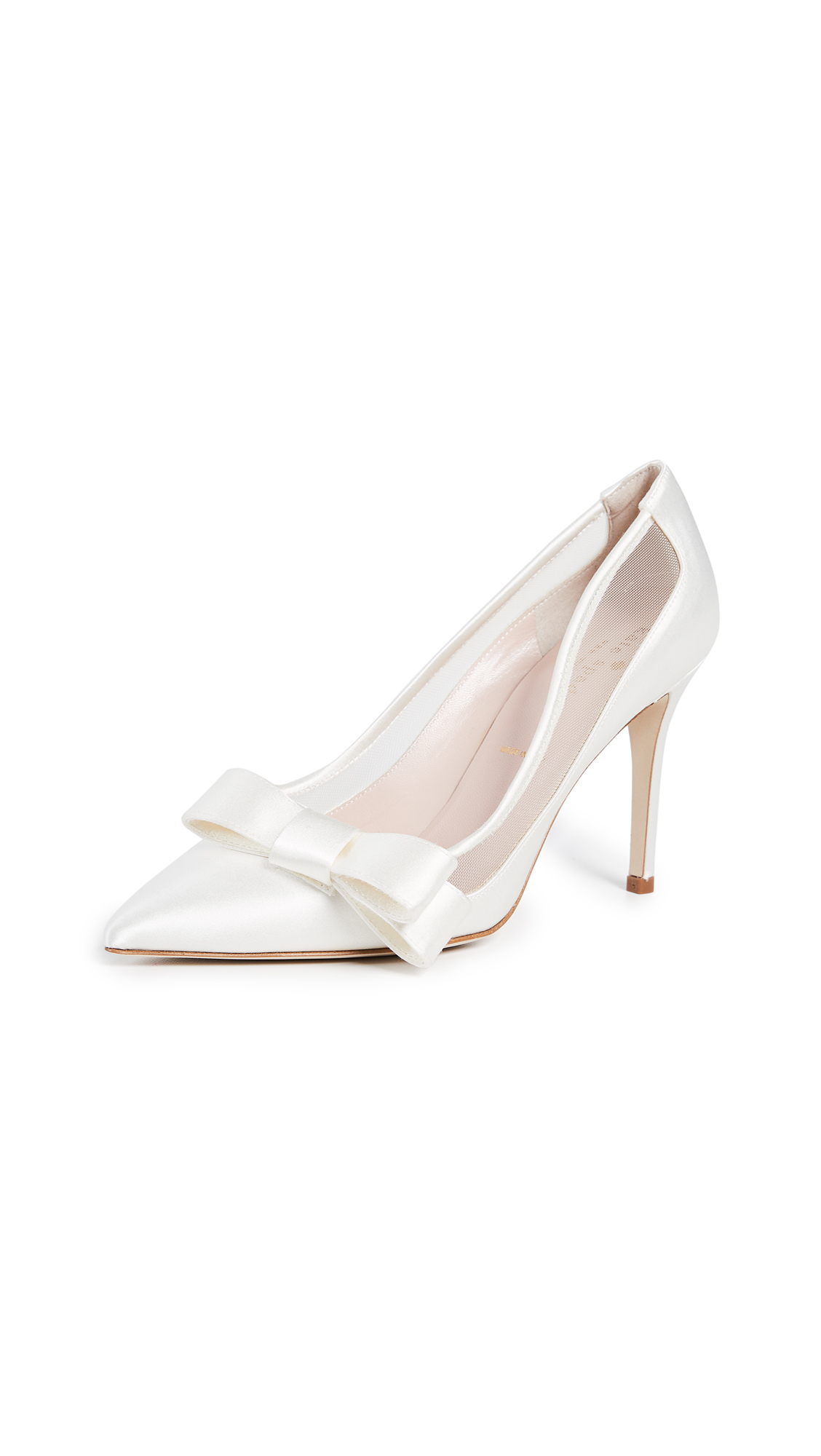 Kate Spade New York Lizzi Point Toe Pumps - Ivory