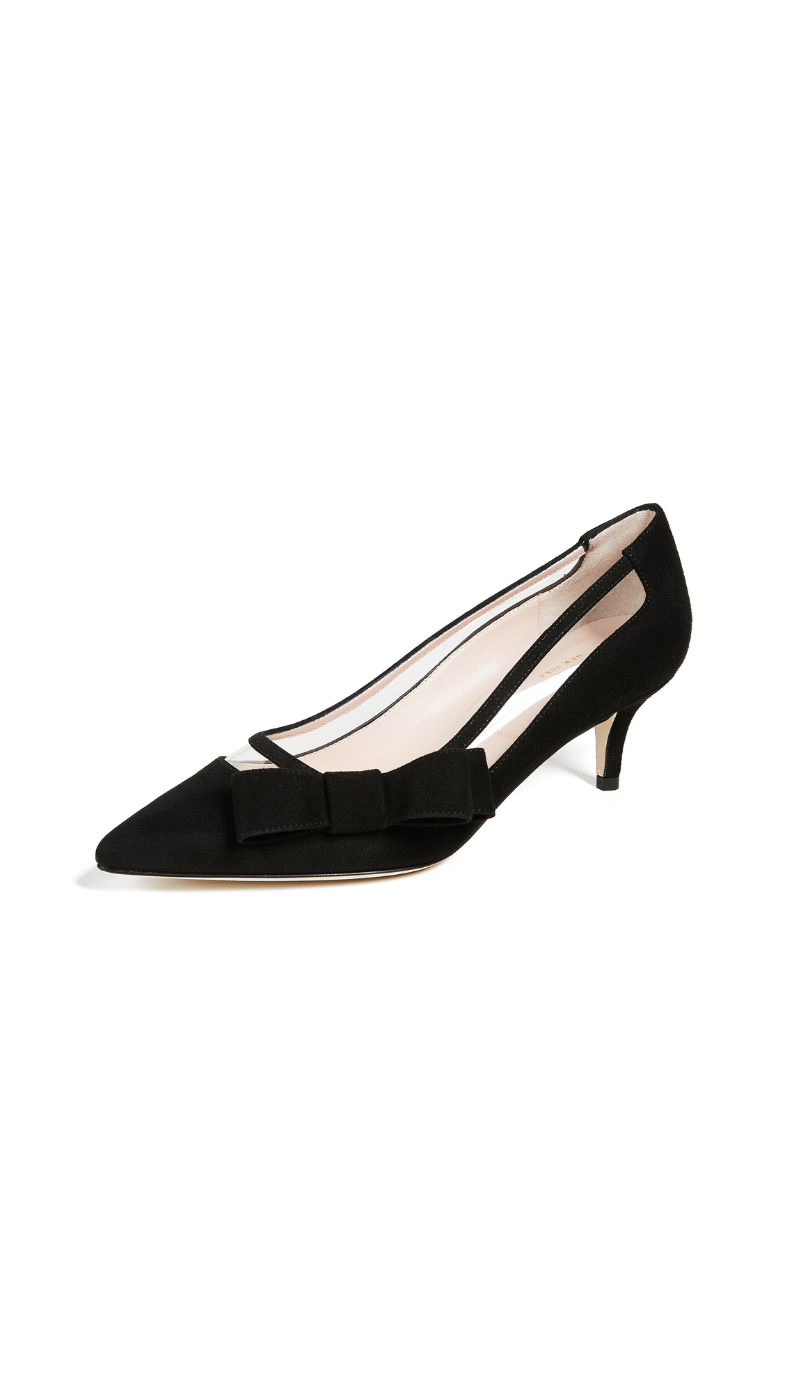 Kate Spade New York Mackensie Point Toe Pumps - Black