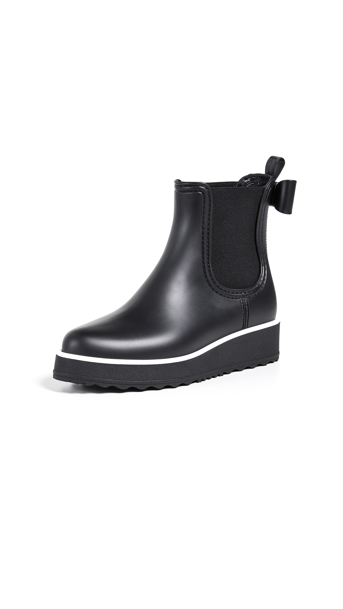 Kate Spade New York Malcom Rain Booties - Black