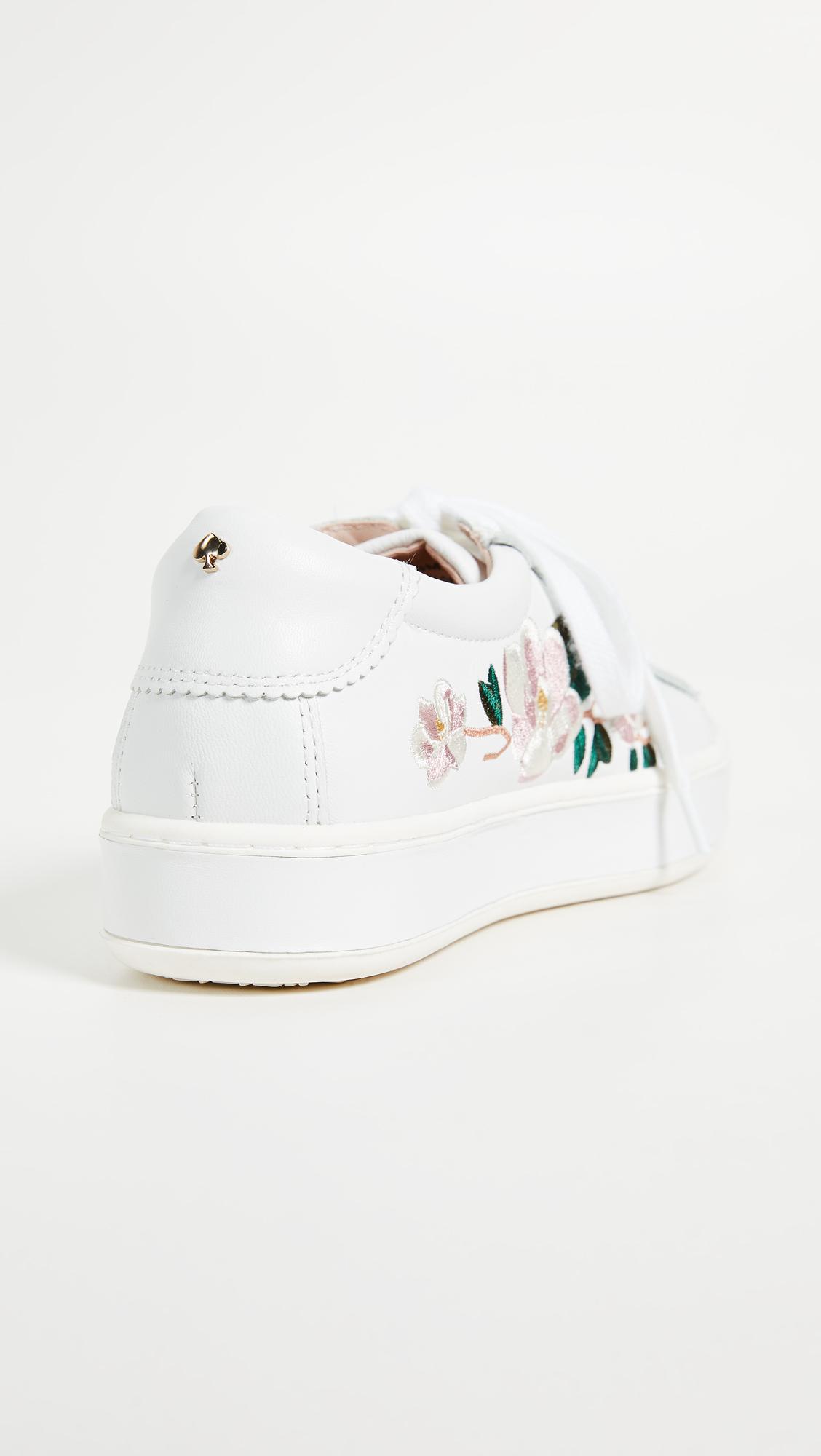 H?gl Floral toe cap sneakers Find Great Sale Online JSSoKh14