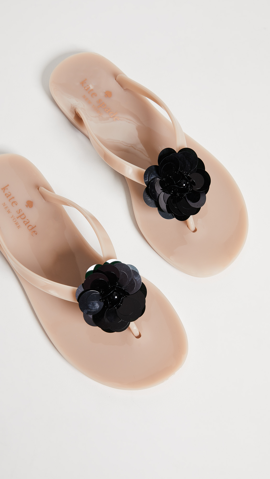 53ef84011ee9 Kate Spade New York Fiorina Floral Jelly Flip Flops