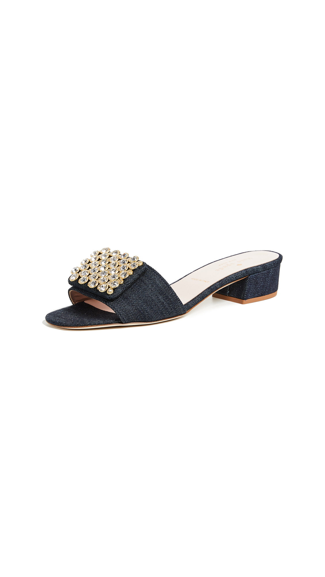Kate Spade New York Mazie Block Heel Sandals - Indigo