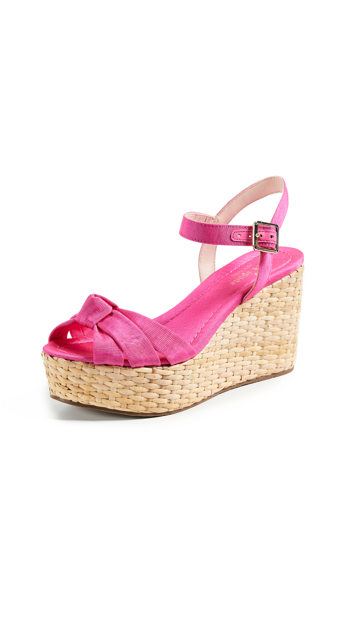 Kate Spade New York Tilly Strappy Wedges - Pink