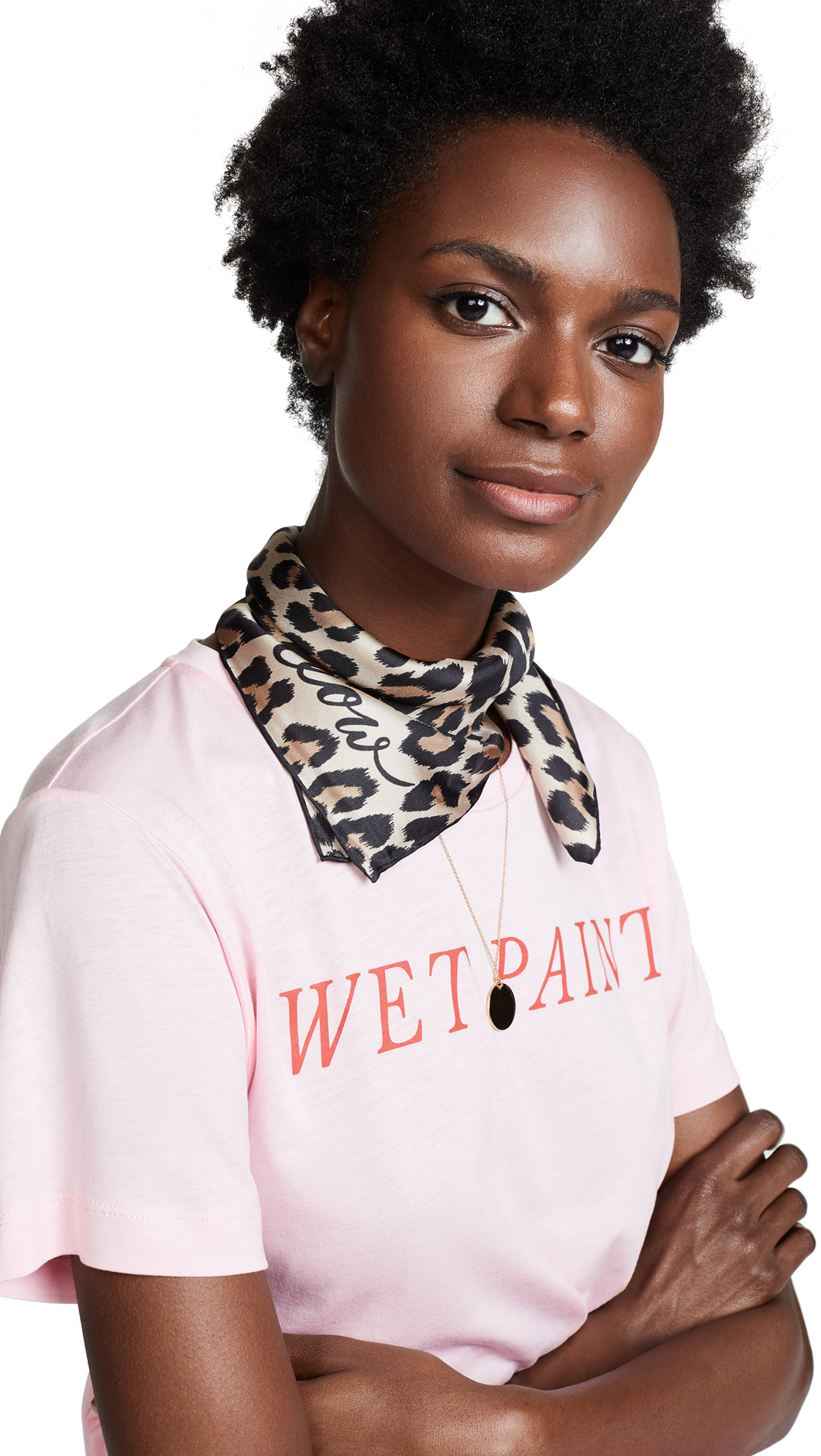 Kate Spade New York Leopard Bandana In Leopard