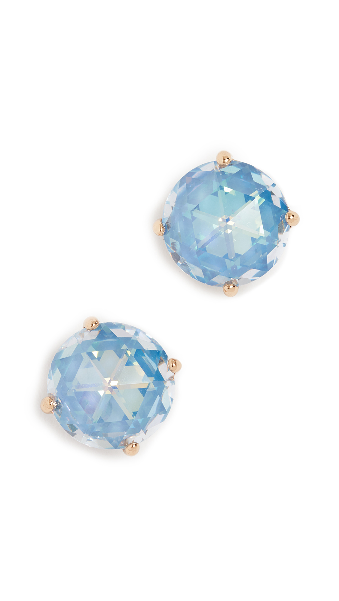 Kate Spade Bright Ideas Stud Earrings In Sapphire Modesens