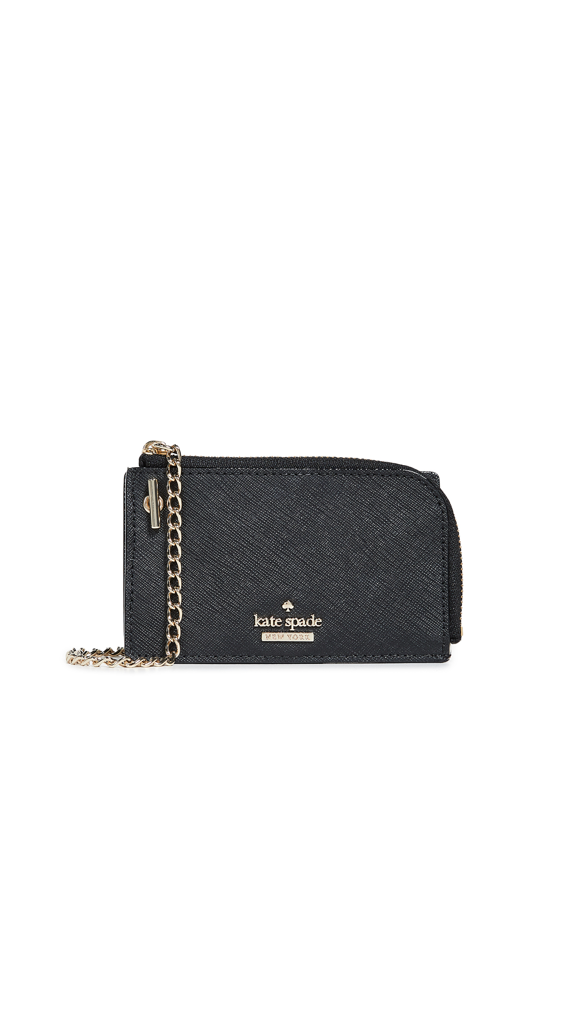 Cameron Street Ivey Card Case With Key Ring, Black