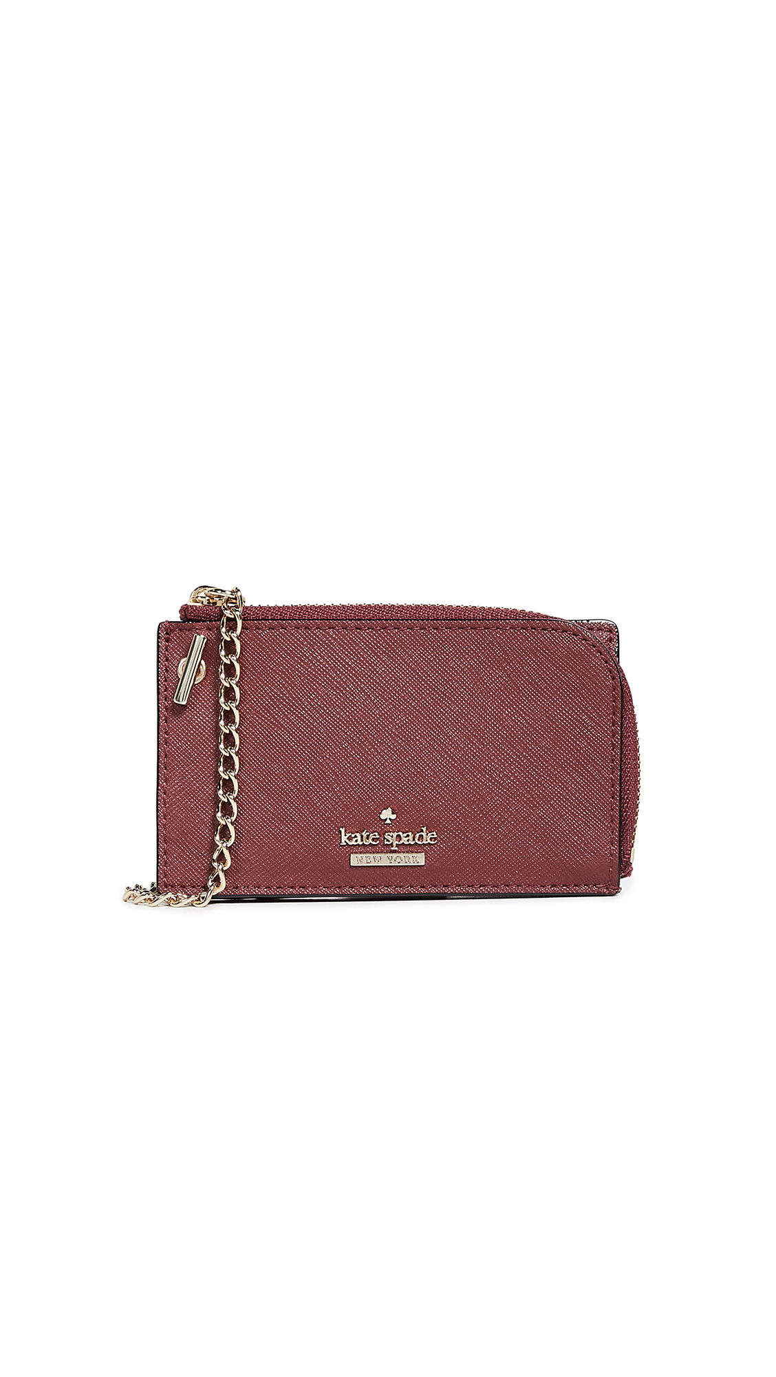 Cameron Street Ivey Card Case With Key Ring, Sienna