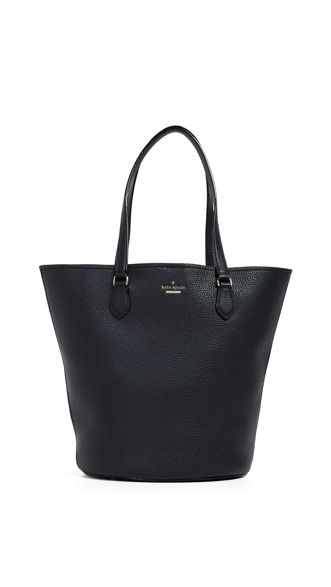 Jackson Street - Kristine Leather Tote - Black