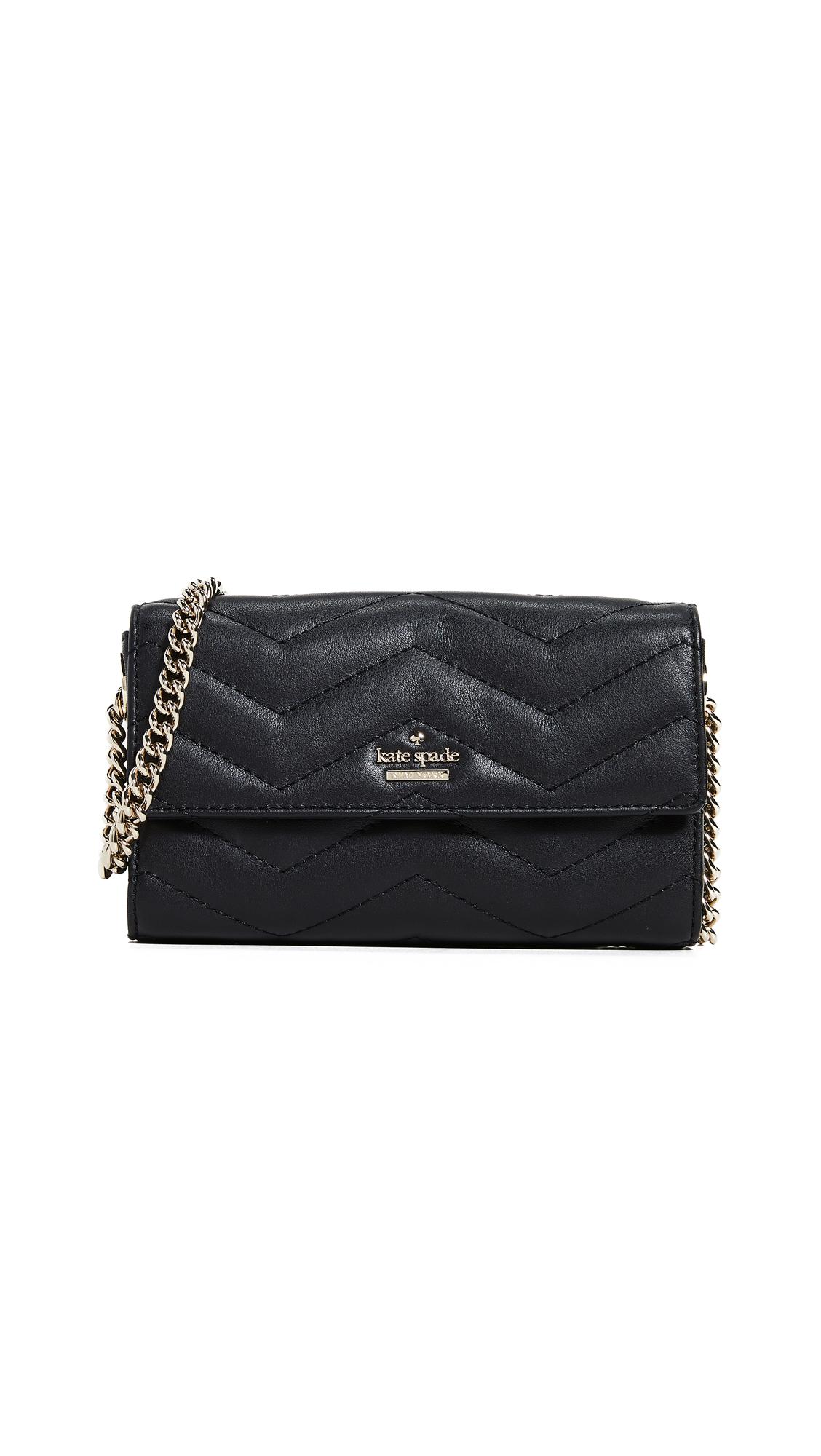 Reese Park Delilah Convertible Belt Bag, Black